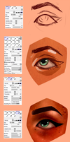 Paint Tool Sai || Brush Settings by H0nk-png
