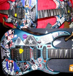 SCART - GUITAR - The MOLOTOV by scart