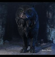 Gmork The Neverending Story 3 by yotaro-sculpts
