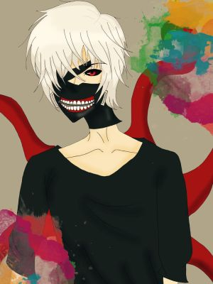 Ken kaneki by raspberrylover4ever