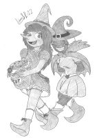 Bonnie and Theobroma, the Syrup Witch by Limpurtikles
