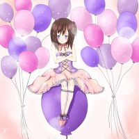 Balloon Girl by 1998Retasu