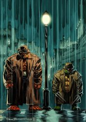 Ben Grimm and Raphael by Fpeniche