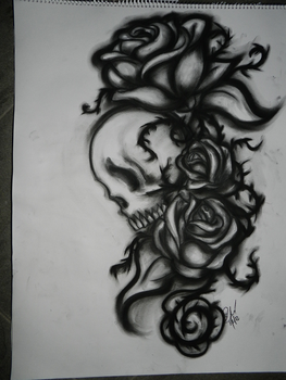 Charcoal works 2 by Velchosus