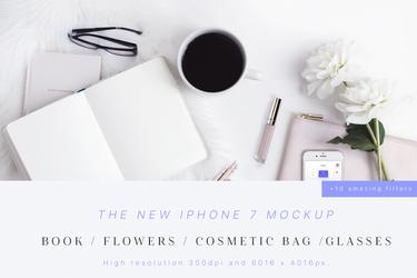Beauty and Styled iPhone 7 Mockup by theanthnonyrich