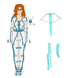 Morhime Ref quincy uniform by InkieRose