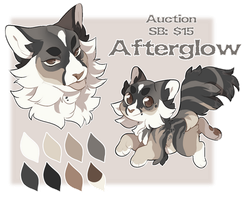 Adopt | Auction | Afterglow by PastelMangoo