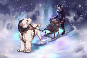 Continuous Events - Single Sled Marathon by Ebbarie