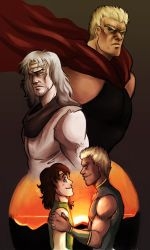 fotns - raoh and toki by spoonybards
