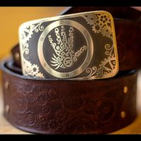 Cogs Steampunk Gear Clockpunk belt and buckle by TimforShade