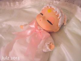 Newborn Princess Serenity Baby Doll by milky-tales