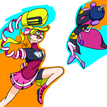RQ - Fuschia Fighters by ChipBiscuit