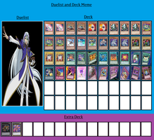 Duelist and Deck - Quinton by MarioFanProductions
