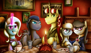 Fanart - MLP. The New Ministry by jamescorck