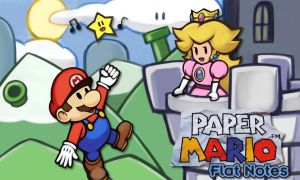Paper Mario banner by hybridmink