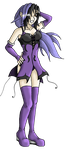 Violet - OC by Tippy-The-Bunny