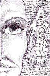 Bad Robot by Churchimus