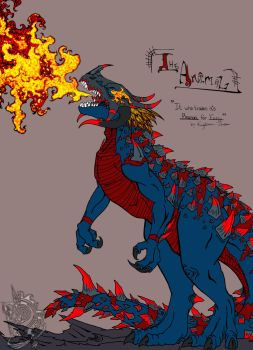 The Animal - Colored by KnightmareFantom