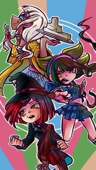Team Himiko {Drv3} by Kamigarin