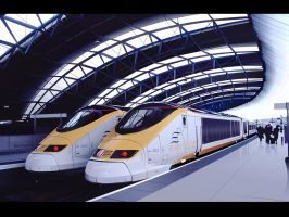 Eurostar Wallpaper by ThEReAlWaZzAr