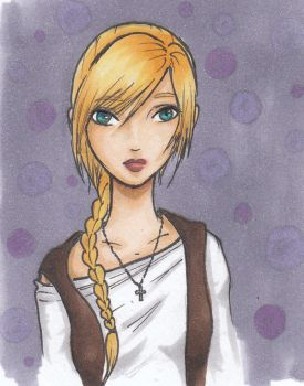 Adelia Colored by Nimhel