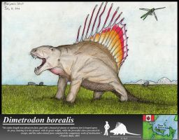 The Great Northern Dimetrodon by Pterosaur-Freak
