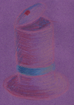 Colored pencil 3 - Mad hat by Rolytic