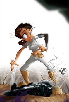 Padme, RUN!!! by nedivory
