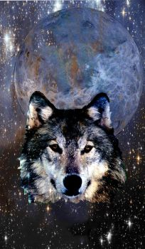 Cosmic Wolf by CosmoCoyote