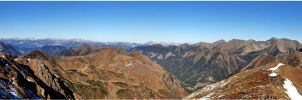 Mountainous world of Styria by lomartistic