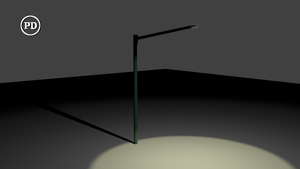 Blender StreetLight - PD/CC0 by over2sd
