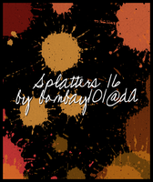 Splatters 16 by bombay101