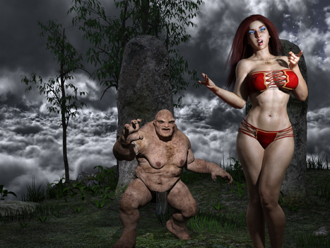 The Enchantress and the Warrior 227 by Nathanomir