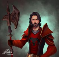 Commission: Trystan Harcourt by HalChroma