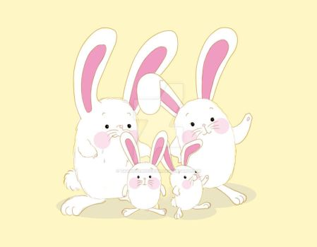 the bunny family by tatsuyabocchan