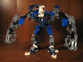 Bionicle Custom: Krekka by AleximusPrime