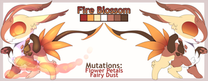 CLOSED[AUCTION]://Fire Blossom by Juvialle