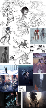 Sketchdump.9 by Remarin