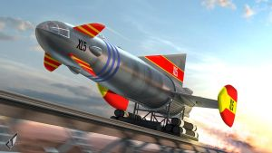 Fireball XL5: Lets Go! by Chrisofedf