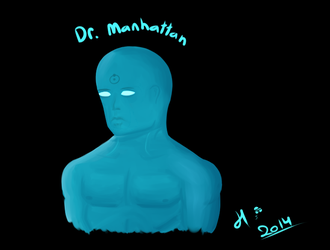 Watchmen - Dr. Manhattan. by TheFettman13