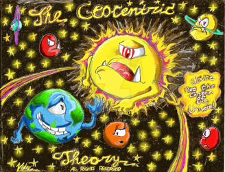 The Geocentric Theory by Luigi1up