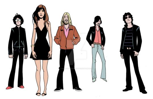 The Zutons by Andrew-Robinson