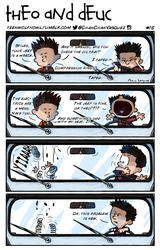 Theo and Deuc Comic Issue 15 by ChanVasquez