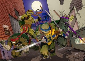 TMNT (Color) by dthompson0190