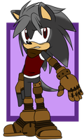 X the Hedgehog .:Update or Rervamp:. by VeggieMadness