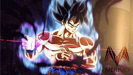 Goku New form HAKAI by merimo-animation