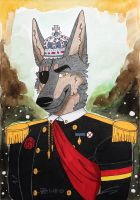 -The New King- by Huskypawz