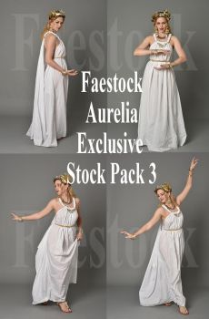 Aurelia  - Exclusive Stock Pack 3 by faestock