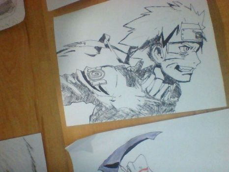 Naruto(Quick Sketch) by Marziman-Official