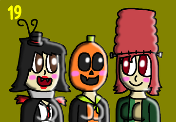 31 days of Halloween 2018 - day 19 by SprixieFan12345